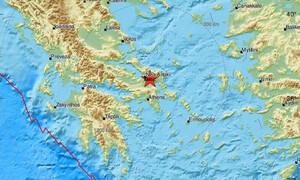 Σεισμός κοντά στη Χαλκίδα - Αισθητός και στην Αττική