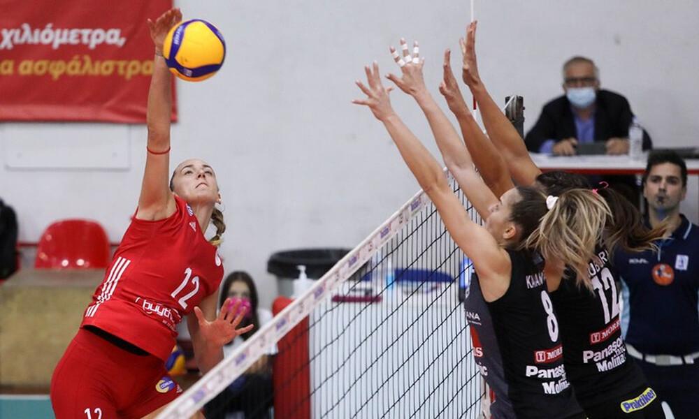 Volley League Γυναικών: Με ΑΕΚ-Ολυμπιακό, Παναθηναϊκό-ΑΟ Θήρας και δύο… ερωτηματικά η 4η «στροφή»