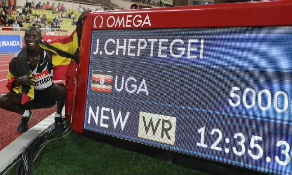 Στίβος: Παγκόσμιο ρεκόρ και με τη… βούλα για τον Τζόσουα Τσεπτεγκέι στα 5.000μ.