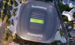 Ρεάλ Μαδρίτης: Προχωρούν τα έργα ανακατασκευής του «Μπερναμπέου» (video)