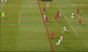 ΝΠΣ Βόλος-ΑΕΛ: Το γκολ του Μιλοσιάβλιεβιτς που ακυρώθηκε (video)