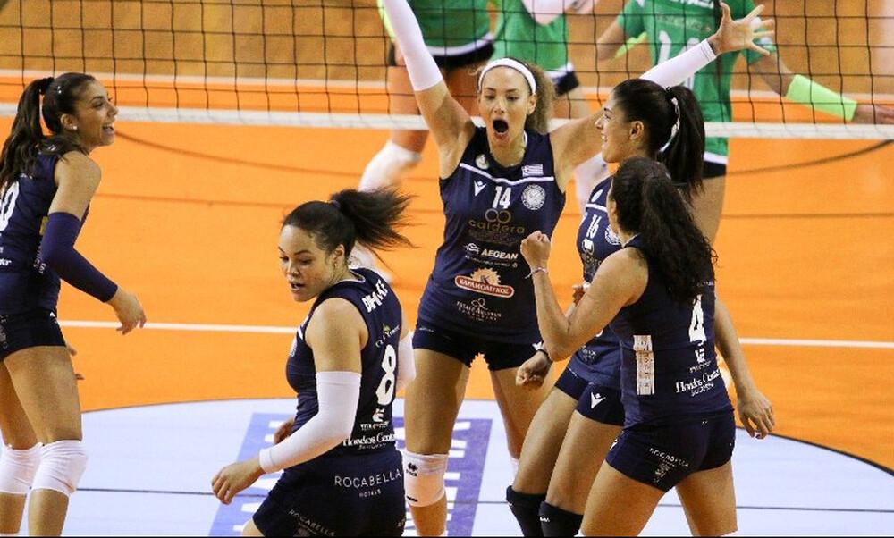 Volley League Γυναικών: Η… λάβα της Σαντορίνης «έκαψε» τον Παναθηναϊκό (photos)