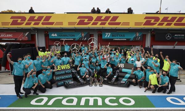 Formula 1: «Έφαγε» τη σκόνη της Πρωταθλήτριας Mercedes, μέσα στην Ιταλία, η Ferrari -Νίκη ο Χάμιλτον