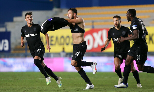Παναιτωλικός-ΠΑΟΚ 1-3: «Ζήλεψε» το αριστερό του Νινούα κι ο Πάμπλο Γκαρσία! (videos+photos)