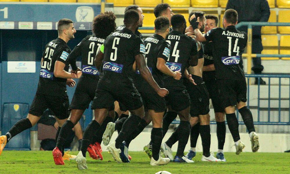 Παναιτωλικός-ΠΑΟΚ 1-3: Η κατάκτηση της νίκης και το ξέσπασμα Νινούα, Τσόλακ (video+photos)