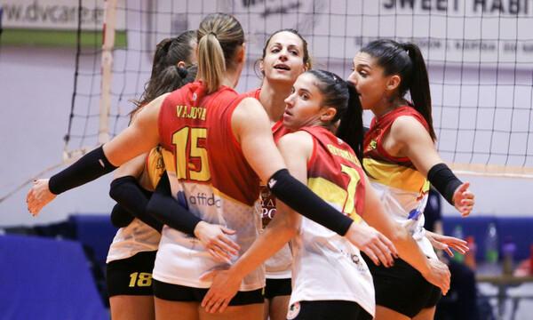 Volley League Γυναικών: Διέλυσαν τη Λαμία οι Αμαζόνες με 3-1 σετ και σκαρφάλωσαν στην 3η θέση