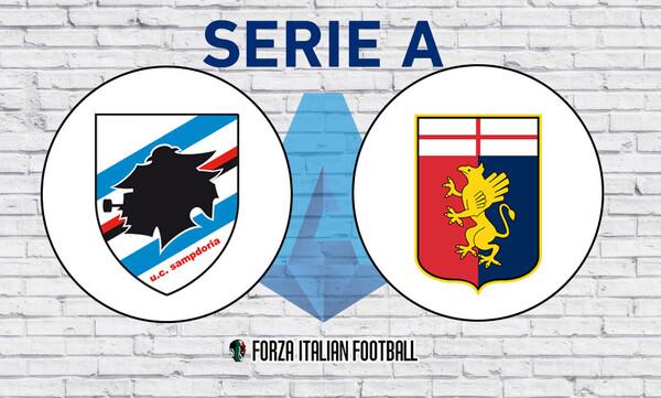 Serie A: Καπνογόνο με… αλεξίπτωτο στο Σαμπντόρια-Τζένοα! (photos+video)