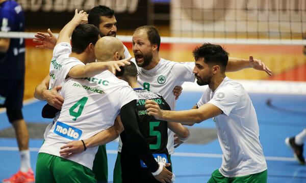 Volley League: Απόδραση με «τρίποντο» από το Ζηρίνειο για τον Πρωταθλητή Παναθηναϊκό (photos+video)