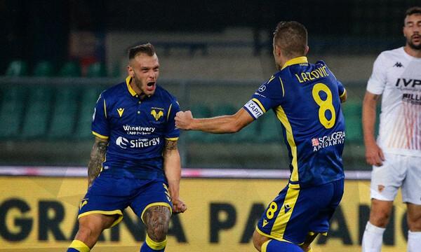 Serie A: Σκαρφαλώνει η Ελλάς Βερόνα (photos)