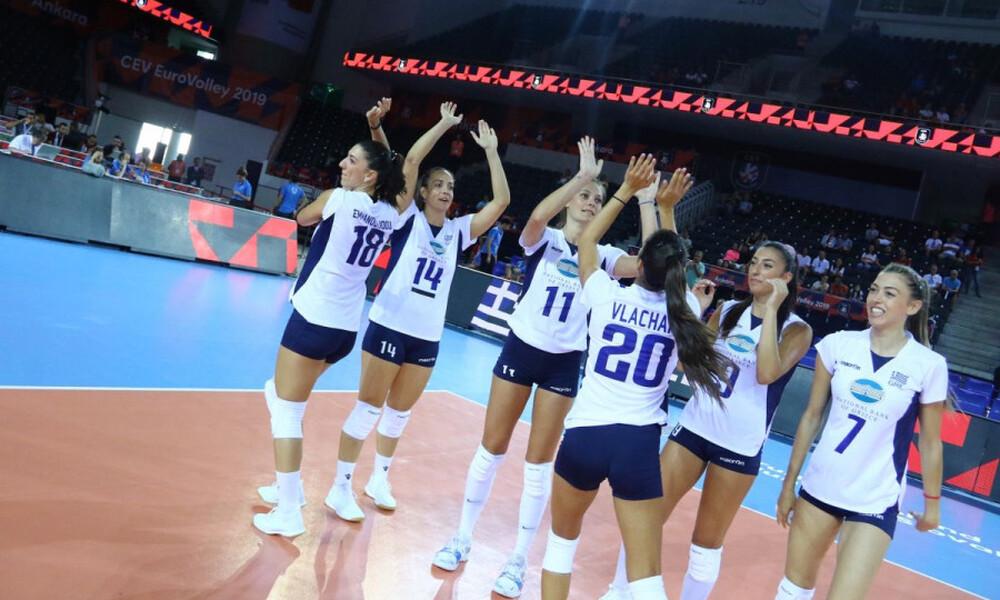 Έκκληση των γυναικών για συνέχιση της Volley League