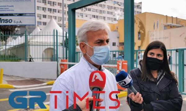 Κορονοϊός - Πρόεδρος γιατρών ΑΧΕΠΑ: «Πιάσαμε οροφή στη ΜΕΘ - Θα διασωληνώνουμε σε απλούς θαλάμους»