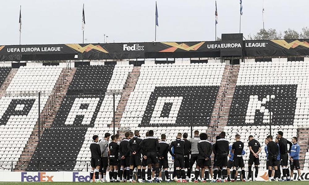 ΠΑΟΚ: Πλήρης για το ματς με Αϊντχόφεν
