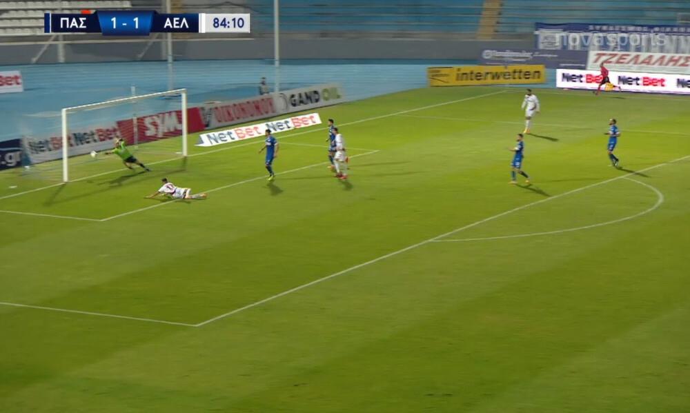 ΠΑΣ Γιάννινα-ΑΕΛ: Το γκολ του Πινακά που έδωσε τη νίκη στους «βυσσινί» (video)