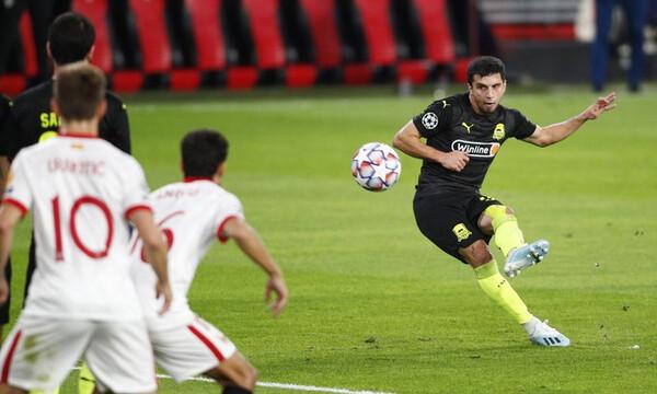 Champions League: Σοκάρει τη Σεβίλλη η Κράσνονταρ, 0-2 με Μπεργκ (videos)
