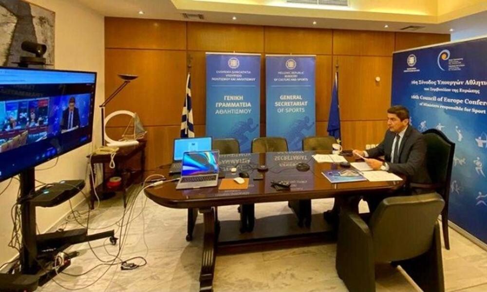 Στη 16η Σύνοδο Υπουργών Αθλητισμού του Συμβουλίου της Ευρώπης ο Λευτέρης Αυγενάκης