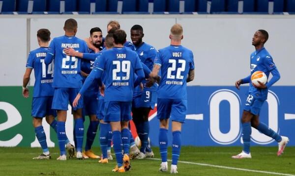 Europa League – 12ος όμιλος: Πεντάρα η Χοφενχάιμ, πήρε… κεφάλι ο Ερυθρός Αστέρας!