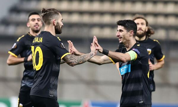 Europa League: Η βαθμολογία του ομίλου της ΑΕΚ μετά τη νίκη στην Ουκρανία (photos)