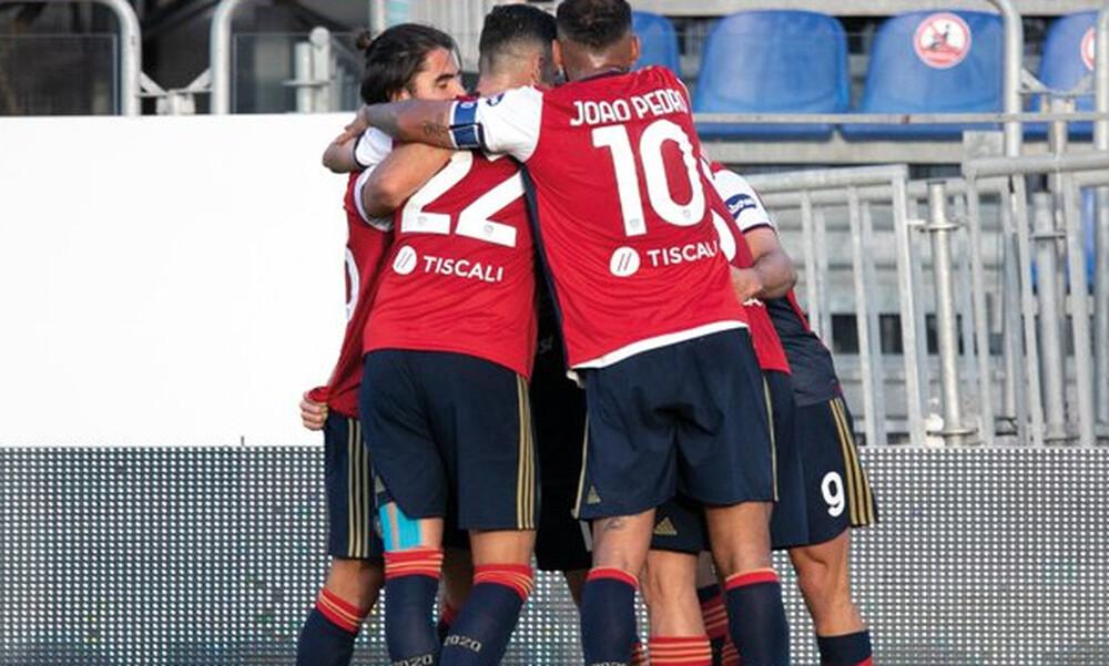 Serie A: «Τρίποντο» με Λυκογιάννη για την Κάλιαρι