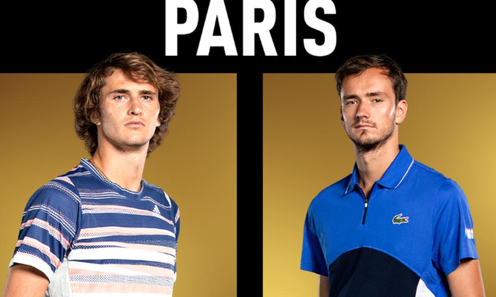 Τένις: Ήττα σοκ για Ναδάλ, οι Ζβέρεφ - Μεντβέντεφ στον τελικό του Paris Masters