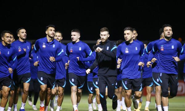 Εθνική Ανδρών: Με το μυαλό σε Κύπρο και Nations League (video+photos)