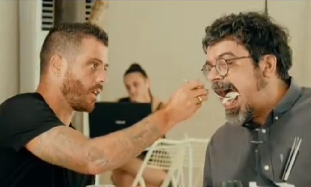 ΠΑΟΚ: Ο Βιεϊρίνια μαγειρεύει, σερβίρει και… ταΐζει φίλαθλο του «Δικέφαλου» (video)
