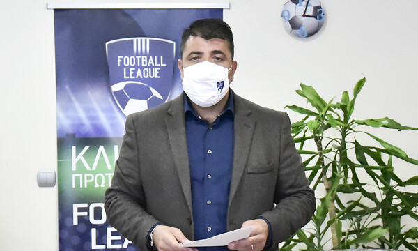 Λεουτσάκος: «Μπορεί να μας πει κάποιος τι θα γίνει με τη Super League 2;»