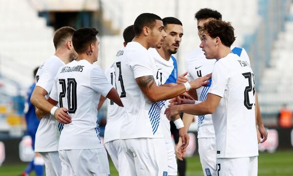 Ελλάδα-Κύπρος 2-1: Άρεσε και σκόραρε στο πρώτο μέρος, χαλάρωσε στο δεύτερο (photos)