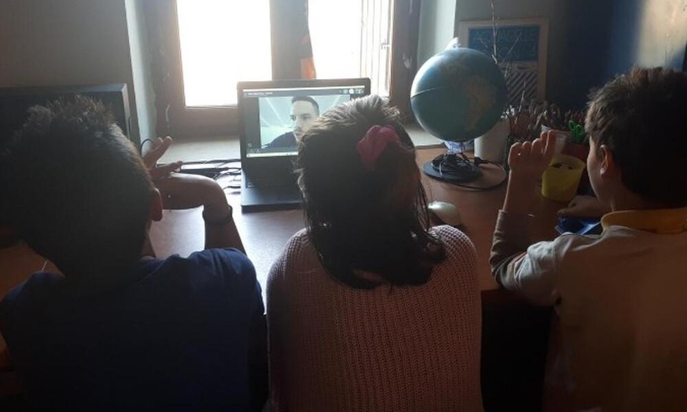 Ζήσε Αθλητικά: Τηλε-επίσκεψη του Λευτέρη Πετρούνια στο Δημοτικό Σχολείο Γαύδου!