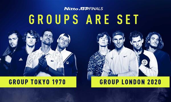 Στέφανος Τσιτσιπάς: Στο γκρουπ του Ράφαελ Ναδάλ στο ATP Finals του Λονδίνου (photo+video)
