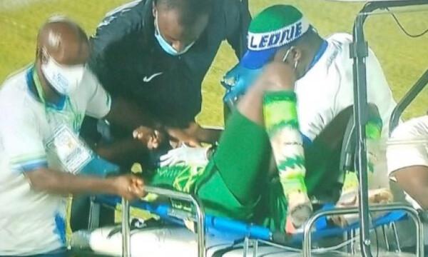 Σοκαριστικός τραυματισμός: Σκόραρε, έδωσε 2 ασίστ και βγήκε με... φορείο (photos)