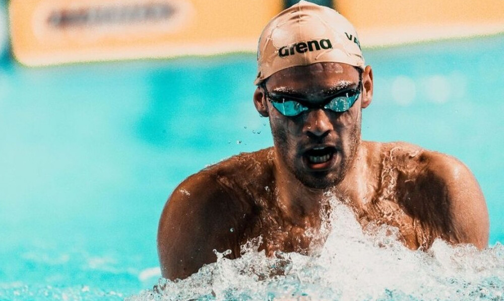 Κολύμβηση: Τρίτος στα 200μ. μικτής ατομικής ο Ανδρέας Βαζαίος