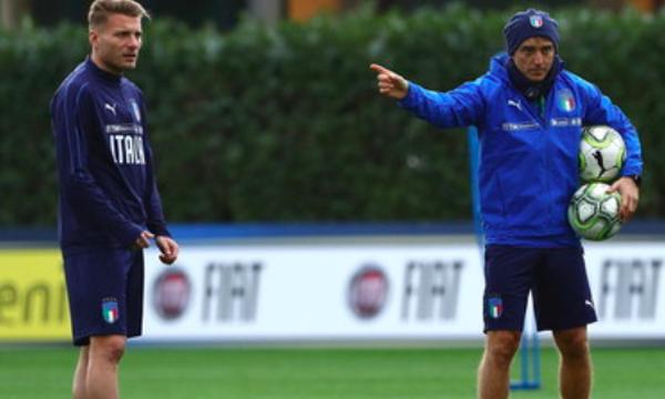 Nations League: Χωρίς Ιμόμπιλε και Μαντσίνι η Ιταλία!