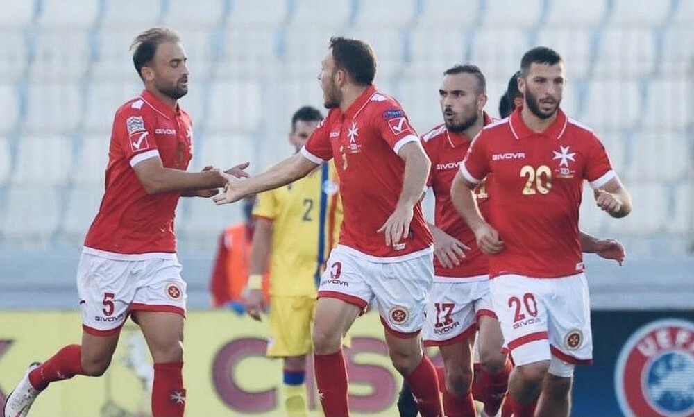 Nations League: Ανατροπή κι ελπίζει για πρωτιά η Μάλτα (video+photos)