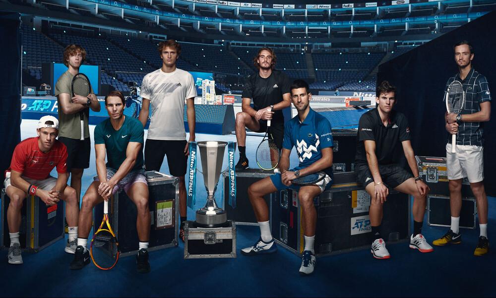 Στέφανος Τσιτσιπάς: «Ο Ναδάλ είναι το φαβορί για τα ATP Finals» (photos+video)