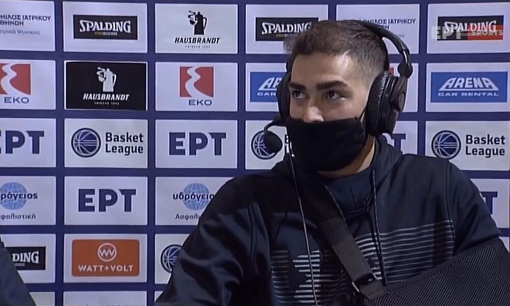 Τολιόπουλος: «Σοκ ο τραυματισμός μου» (video)