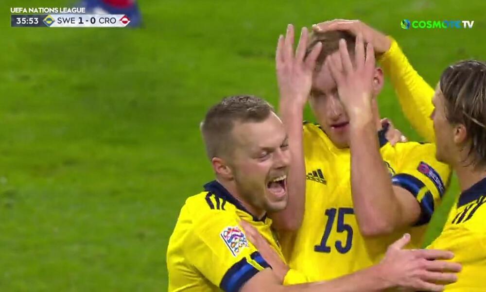 Nations League: Ο Κουλουσέφσκι εκτέλεσε την Κροατία (video)