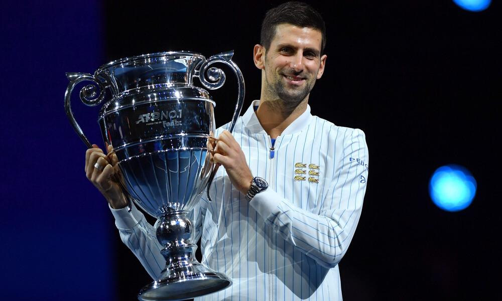 ATP Finals: Βραβεύτηκε το Νο1, Νόβακ Τζόκοβιτς (photos+video)