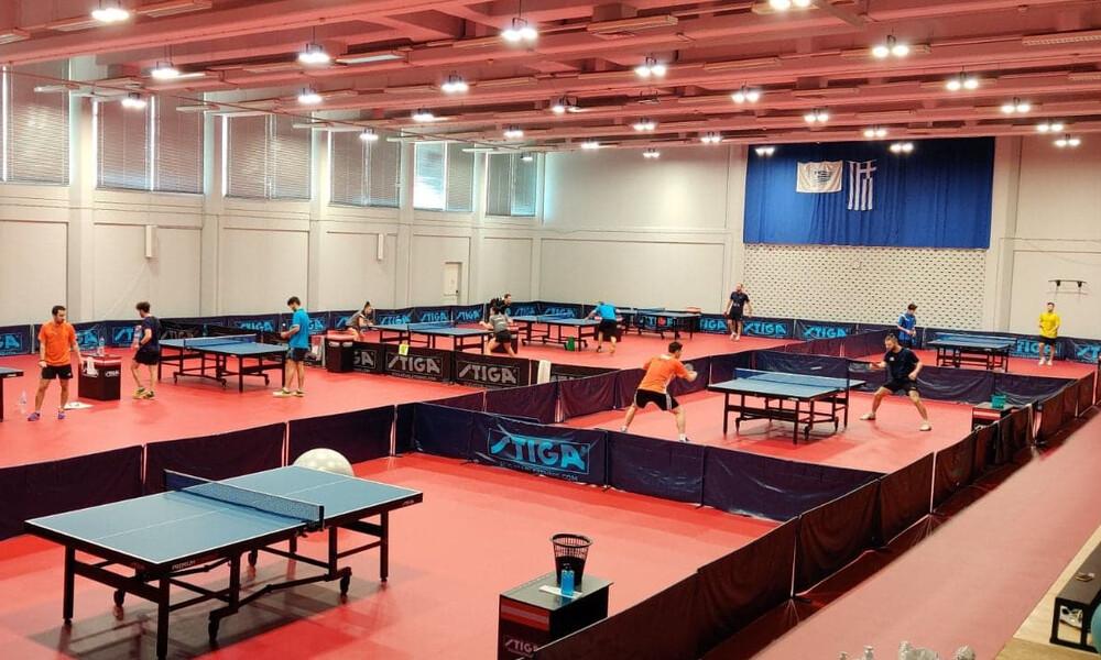 Πινγκ Πονγκ: Οι διεθνείς αθλητές… εγκαινίασαν την ανανεωμένη αίθουσα του ΣΕΦ (photos)