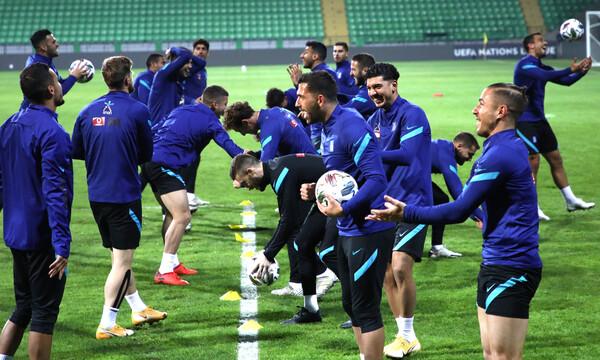 Μολδαβία-Ελλάδα: Με 4-2-3-1 η Εθνικής μας στο Κισινάου (photos)