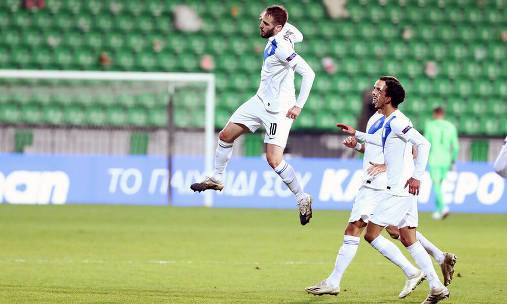 Μολδαβία-Ελλάδα 0-2: Έτσι διέλυσαν τη Μολδαβία Φορτούνης, Μπακασέτας! (video+photos)