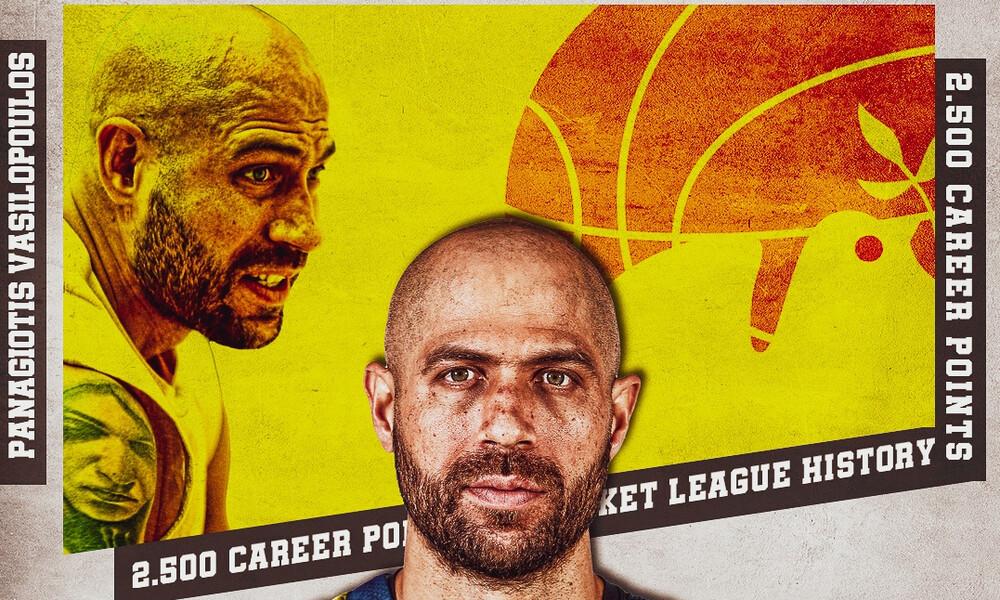 Περιστέρι: Έπιασε τους 2.500 πόντους ο Βασιλόπουλος!