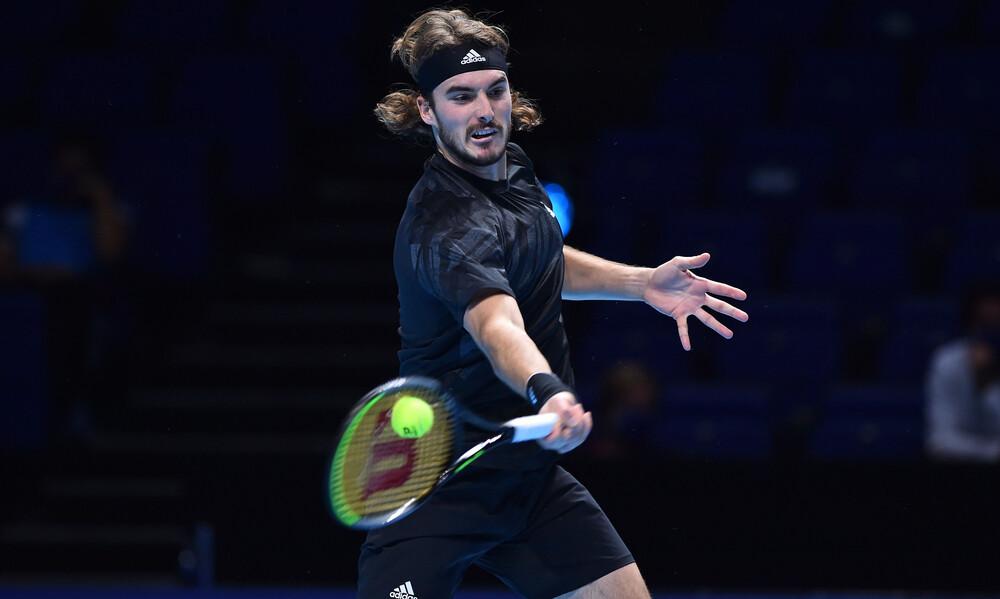 ATP Finals: «Μάχη» κόντρα στον Ρούμπλεφ αύριο για τον Τσιτσιπά (photos+video)