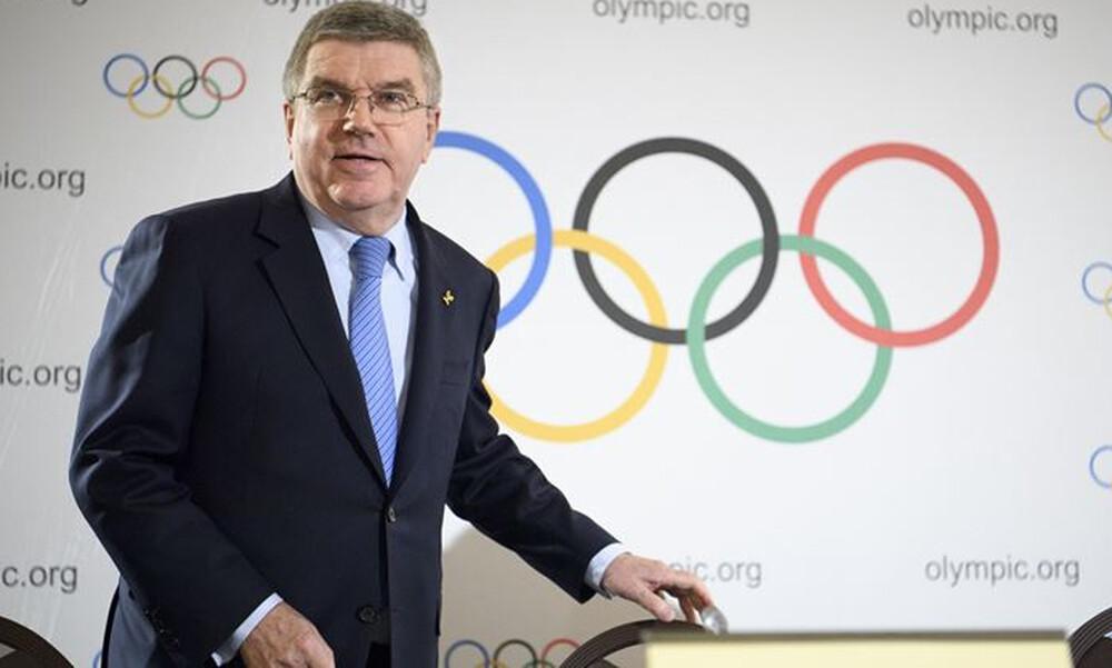 Ολυμπιακοί Αγώνες- Μπαχ: «Ο εμβολιασμός δεν θα είναι υποχρεωτικός για τους αθλητές»