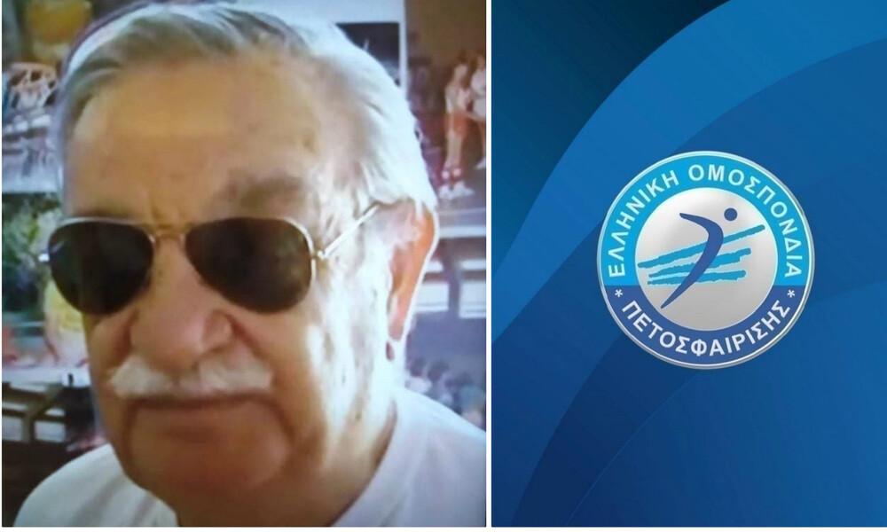ΕΟΠΕ: «Το Ελληνικό Βόλεϊ πενθεί την απώλεια του τεράστιου Αντώνη Δούκα»