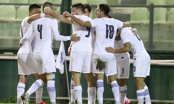 Ελλάδα U21 -Σκωτία U21 1-0: Την σόκαρε ο Χριστόπουλος (video)
