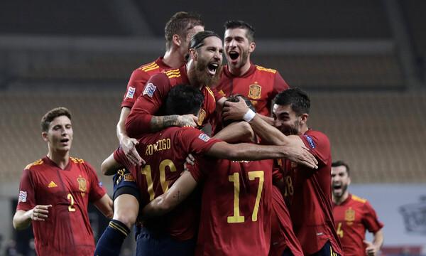 UEFA Nations League: Η Ισπανία ταπείνωσε με εξάρα την Γερμανία (photos+video)