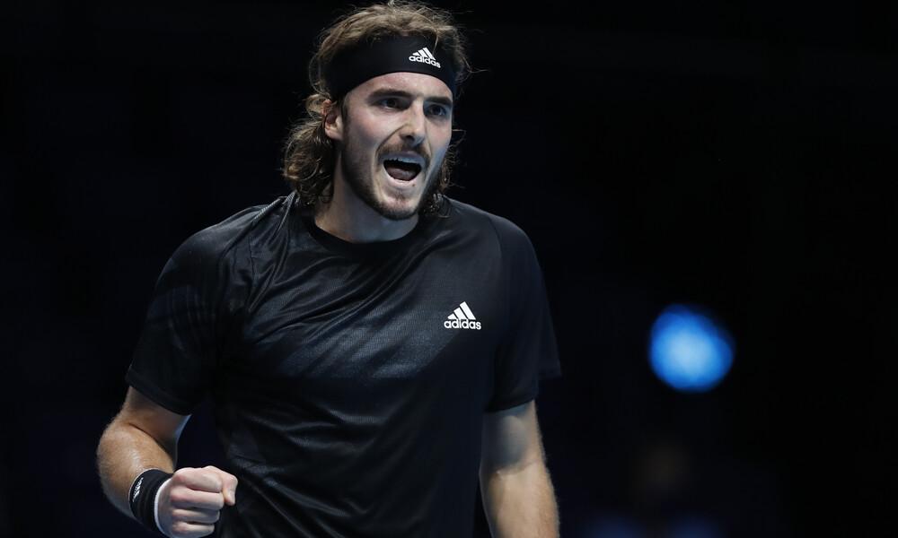 ATP Finals: Πήρε το «θρίλερ» με Ρούμπλεφ ο Τσιτσιπάς και τώρα ο «τελικός» με Ναδάλ (videos+photos)