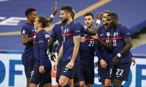 UEFA Nations League: Τεσσάρα η Γαλλία, διπλό η Πορτογαλία (photos+videos)