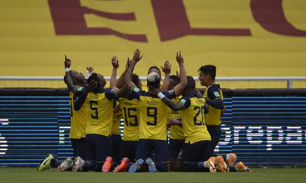 Στα «χνάρια» της Ισπανίας ο Ισημερινός φιλοδώρησε με εξάρα την Κολομβία (videos)