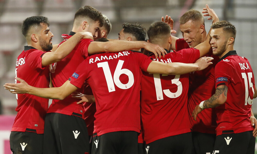 UEFA Nations League: Άνοδος για Αλβανία με τριάρα (videos)